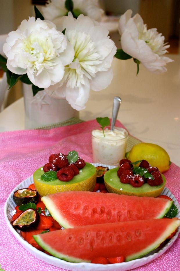enkel dessert i glas